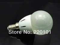 2013 new style Wholesale 100 PCS E14 Energy Saving LED high power 3W Lamp Bulbs Lighting Cool White warm white green red blue