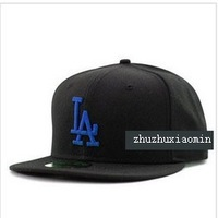 Wholesale 40 oz NY LA Snapback Black baseball cap hat men and women of the shade summer sun hat cap leisure cap