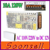 Wholesale Big discount 12V 10A 120W LED Power Supply,Switching Power Supply AC100-240V input