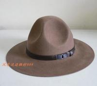 New Style 100% Wool Felt Hats Fashion Men Hero Gift Knight fedoras Caps Cool trooper Hat Free Shipping