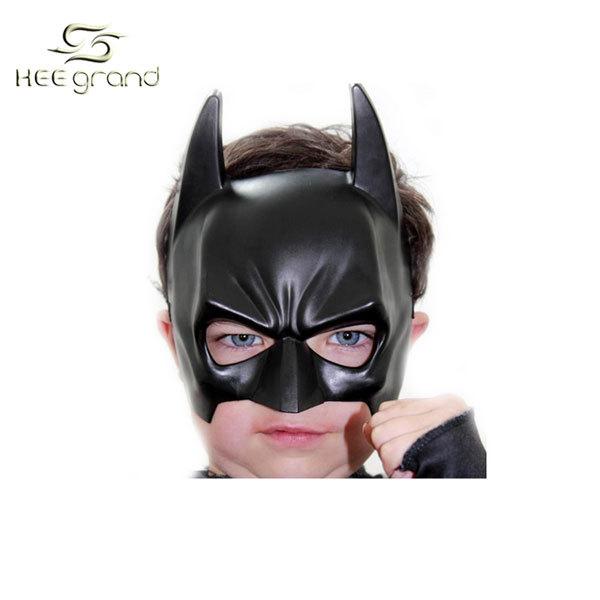 2013 Masquerade Black Masks Halloween Batman's Mask Cool & Cute for Kids Hard Material Free Shipping PFW002(China (Mainland))