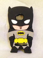 Lovely Fashion 3D Hero Batman Silicone Soft Case Cover For Nokia Lumia 710 N710