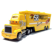 100% Original Pixar Cars 2 Toy Octane Gain #58 Hauler Diecast Toy New In Stock Free Shipping