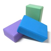 Yoga Pilates Foam Foaming Block Brick Stretch Aid Health Fitness Exercise Gym[030230]