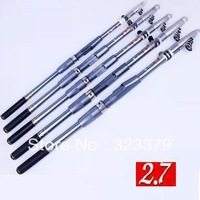 fishing pole 2.7 meters fishing rod carbon hard 2.7M  carp fishing  fly rod good quality fishing rod holder 1pcs/lot