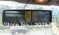 "Portable Car DVR 5"" TFT LCD Degree Rotating Screen HD display Camcorder Night Vision Multi-Language Free Shipping"