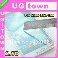 2.5D Tempered Glass Film Screen Protector For Samsung Galaxy Note 2/N7100 Free Shipping