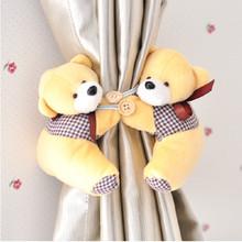5 cor tieback janela cortina gancho acessórios Curtain Litter urso fivela cinto grátis frete atacado(China (Mainland))