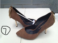 Free Shipping Breaking Yard Special Offer Chain Embellished Pump