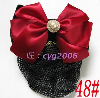 Pearl fine mesh hair accessory hairpin hair accessory hair accessory net flower