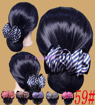 Bow hair accessory net flower hairpin hair accessory hair accessory accessories