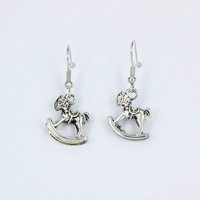 Wholesale Lead and Nickel Free Wholesale Fashion Jewelry for 2013 Drop Earring Butterfly Design Vintage Items No. P00627