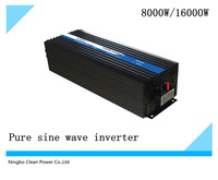 HOT SAEL! Frequency inverter 8000w/16kw  DC24V to AC220V Pure sine wave invrter/solar invertor (CP-P-8000W)