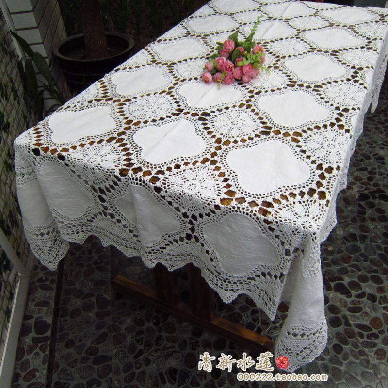 Wholesale 2015 New Cotton Crochet Table Cloth Lace Table
