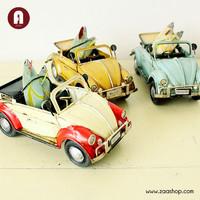 1947 skateboard honourable beetle handmade vintage classic model metal car models decoration
