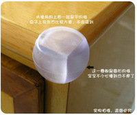 Baby safety products spherical zhuojiao collision avoidance baby soft elastic thickening 3m glue