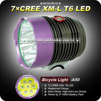 1 Set 7x CREE T6 6000 Lumens LED Cycling Bike Bicycle Light /Headlight 8.4V 6600mAh