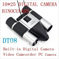 Binocular digital camera objective lens binoculars combind with digital camera telescope camera DT-08 ,Free shipping