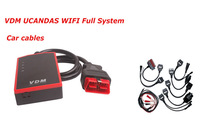 VDM UCANDAS WIFI Full System Automotive Diagnostic Tool Update Online VDM (Better than CDP Pro) With Car Cables + Truck Cables