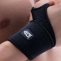 Aq wrist support gloves sports summer breathable badminton tennis ball apologetics wrist length male female flanchard