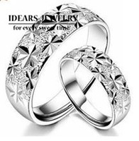 Adjustable 2013 925 pure silver jewelry lovers ring pure silver ring uy-r010