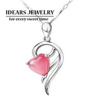 Free shipping!Sterling Silver charm pendants,2013 design 925 pure silver jewelry female heart necklace pendant uy-p011