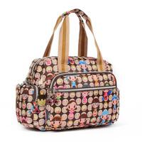 Casual nylon bag women's handbag doll one shoulder big cross-body dual-use package smiley coffee