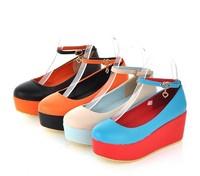 2013 new hot selling women's platform shoes  Korean fashion women's shoes  Wedding shoes
