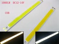 Rectangle 3W 10W COB LED lamp light bulb 12V -14V cool white warm white for DIY
