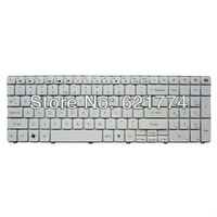 New White Replacement Laptop Keyboard for Gateway ID59 ID59C ID79C NV MS Series Notebook US Layout Free Shipping