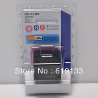 Battery For sony NP-FV100 NPFV100 Camera Battery HDR-CX XR 150 350 500 520 550E bateria batterie akku Free shipping