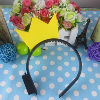 Flash diamond hairpin flash hair bands headband night market toy