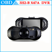 "New arrive 3H2-B Car DVR Camera Novatek 96650 car black box 2.7"" LCD Dashboard camcorder 1080P FreeShipping"