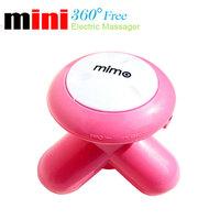 Free Shipping  2013 New USB Electric Handled Vibrating Mini Full Body Massager Retail Box