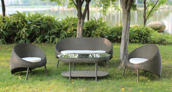 Rattan furniture rattan sofa set living room sofa coffee table