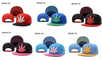 Wholesale Marijuana snap back hats Galaxy snapback Hat pink dolphin Trukfit Cap Basketball Diamond caps Flowers
