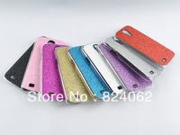 200Pcs/lot  HOT!! Flash Shiny Twinkling Shimmering Glitter Glaring color Powder Electroplating Case For Samsung Galaxy S4 i9500