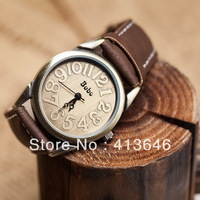 Fashion strap vintage table scale women's digital fashion watch ladies watch lovers table