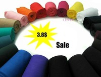 3PCS/LOT Autumn thermal pantyhose velvet candy color stovepipe basic stocks