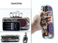 SH-03918-12 Sequins Skeleton Wedding Bag  Fashion Clutch Bag Shoulder Bag