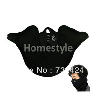 New Black Neoprene Neck Warm Face Mask Veil Guard Sport Bike Motorcycle Ski Snowboard 599