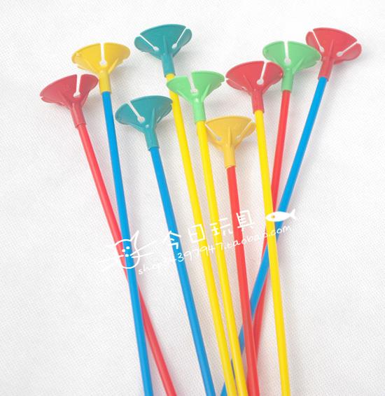 Balloons on Sticks Balloon Stick Rod Balloon