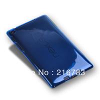 20 Pcs/Lot  High Quality Plastic Crystal Waterproof Hard Back Case for Google Nexus 7 2 II 2nd Generation 2013 Free Shipping
