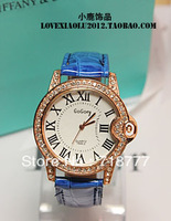 Min Order Of $15 Free Shipping Fashion Roman Scale Rhinestone Ladies Watch Casual Watch