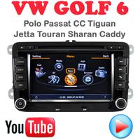 Car DVD VW Golf 6 Polo Passat CC Jetta Tiguan Touran EOS Sharan Scirocco caddy car pc GPS Navigation 3G wifi multimedia centre