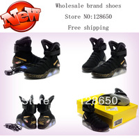 2013 Back to Future Mag Glow NK Men's Basketball Footwear Sneaker Shoes Black Gold 41-47