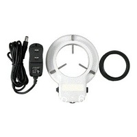 Free shipping  !  48 LED Microscope Ring Light + Adapter