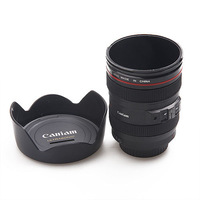 Free Shipping Fashion SLR Lens  Piggy Bank SLR Camera Money-box/Saving Box  Caniam Storage Tank