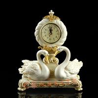 Clock vintage home decoration fashion mute clock luxury classical desktop clock