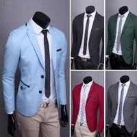 New boutique sale large size men's suit  Hot blazers for men 5 color 4 size 135064